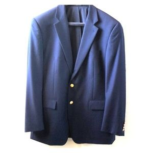Lauren by Ralph Lauren Navy Blue Blazer 42R
